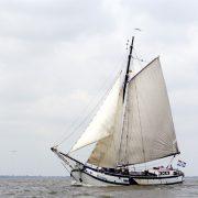 Zeilschip de Onderneming varend
