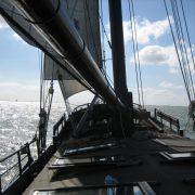 Lady Johanna en cubierta