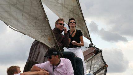 Viatge de vela amb grup en veler tradicional