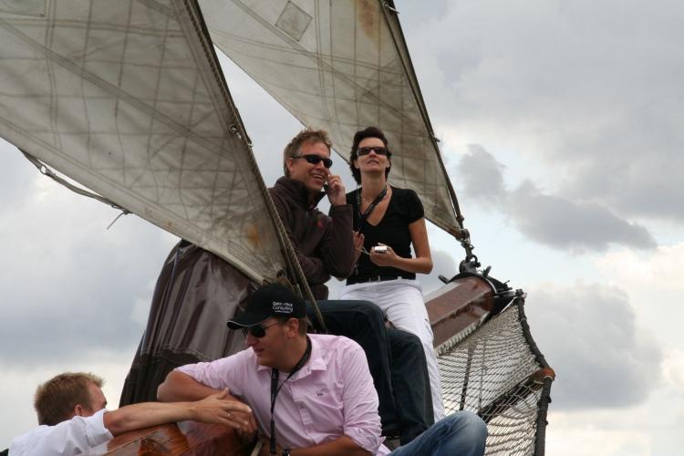 Zeilreis met groep op traditioneel zeilschip