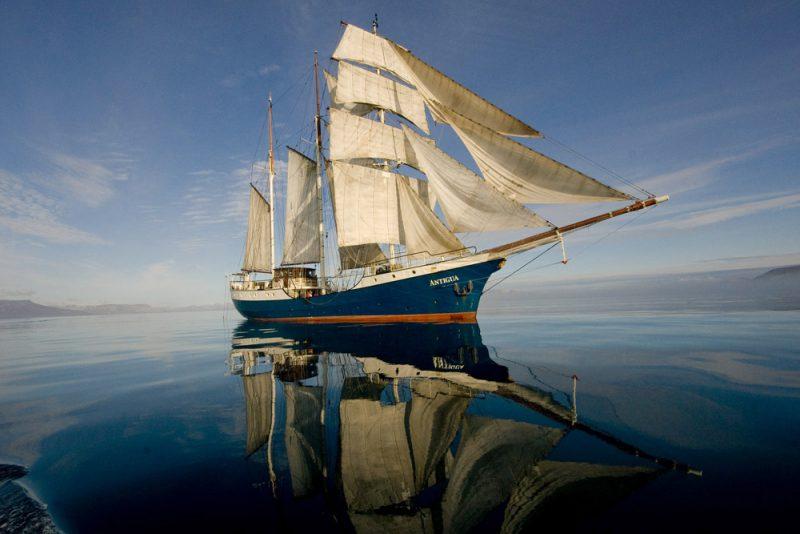 Mijlenmaker zeezeilen Antigua