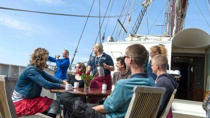 Zeilvakantie op Tallship Artemis