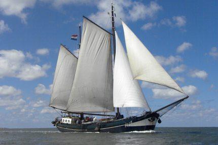 Výletní plavba Wilhelmina Waddenské moře