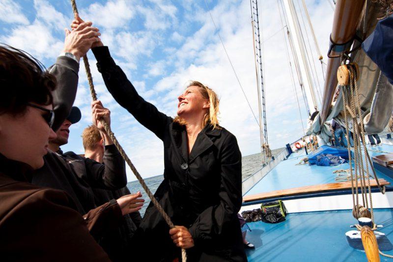 Lekker een weekend zeilen op de waddenzee en Ijsselmeer