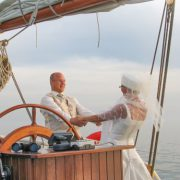 γαμήλιο σκάφος-σχάρα πλοίου