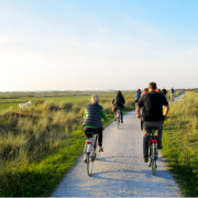fietsen en zeilen