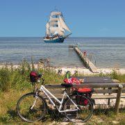 Sailing and cycling Denmark Atlantis