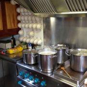 neuartige Küche