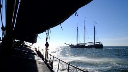 Viaje en velero a vela en el mar de Wadden