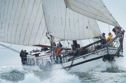 navegando mar de wadden
