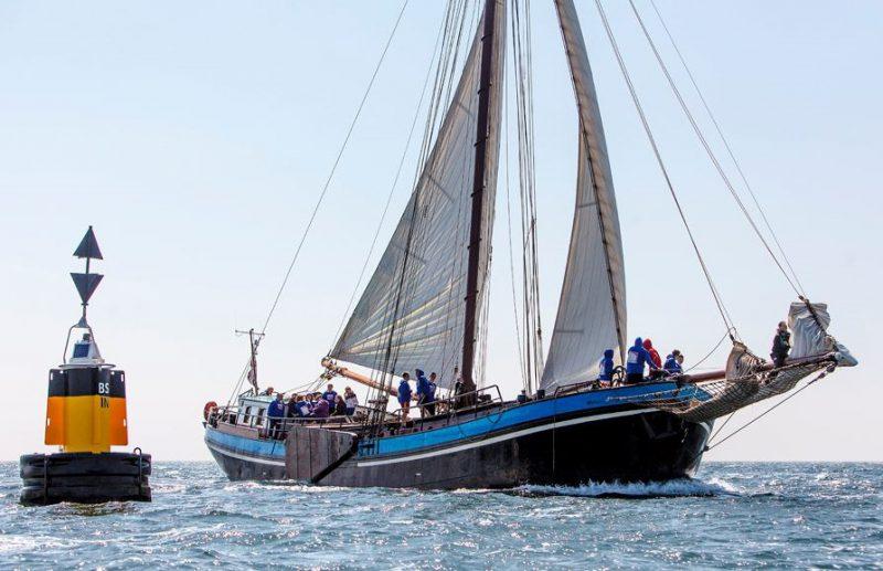 sailing on the IJsselmeer