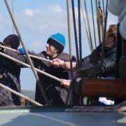 Праздник парусного спорта на традиционном парусном судне